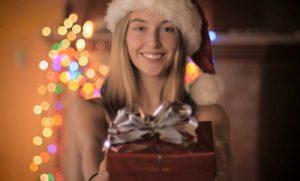 Adventskalender mit Geschenkboxen