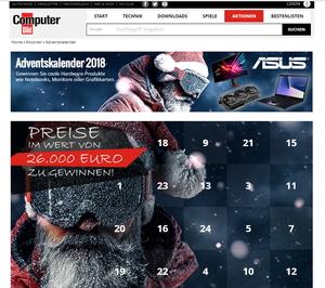 Computerbild Adventskalender homepage