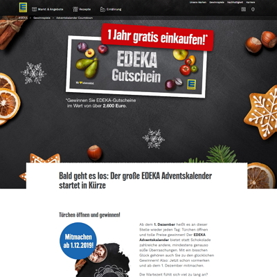 Computerbild Adventskalender homepage