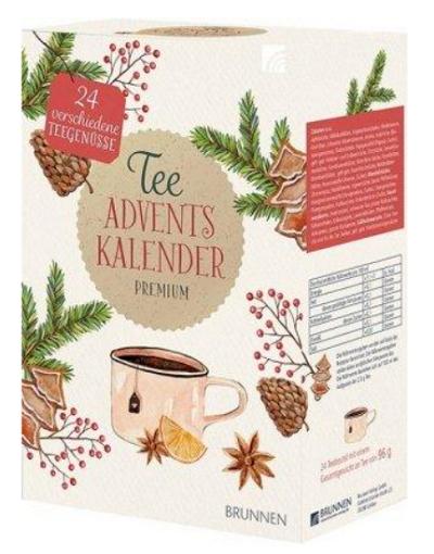 Brunnen Premium Tee Adventskalender 2020