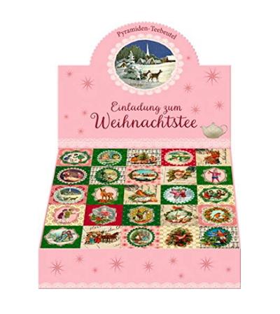 Einladung zum Weihnachtstee - Teekalender
