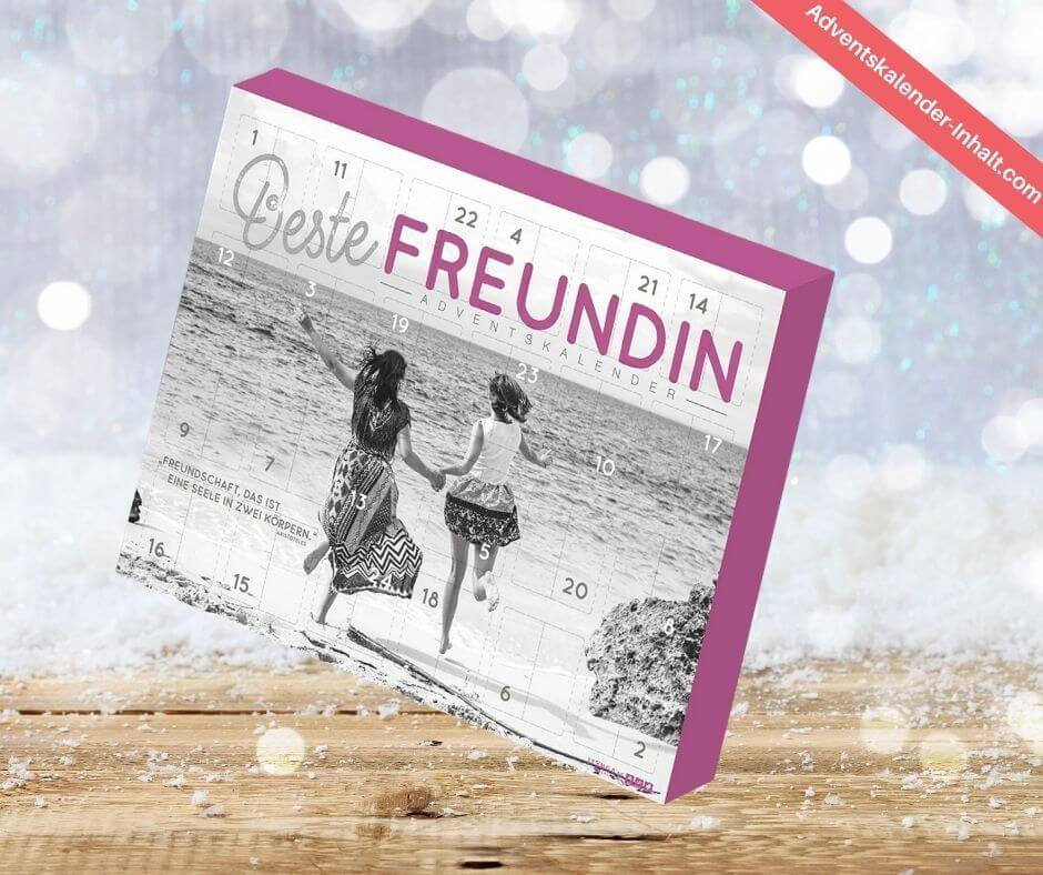 "Adventskalender ""Beste Freundin"""