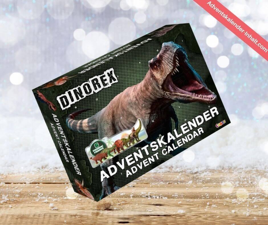 Adventskalender DINOREX Dinosaurier 2020