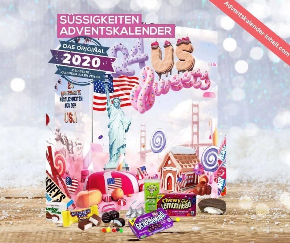 Amerikanische Süßigkeiten Adventskalender