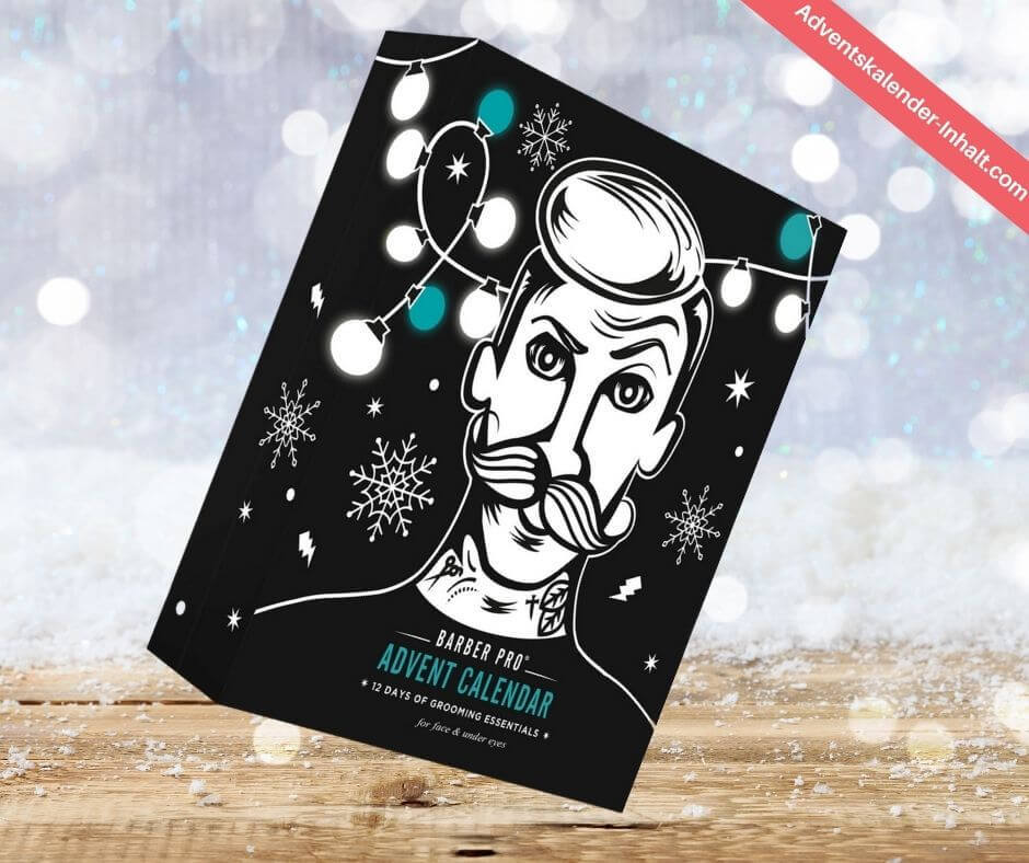BARBER PRO 12 Days of Grooming Essentials Advent Calendar