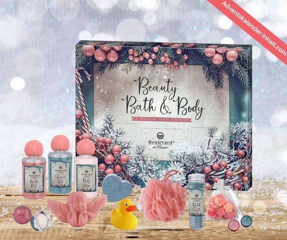 Boulevard de Beauté Beauty, Bath & Body Adventskalender