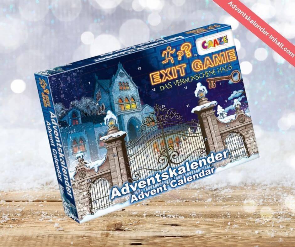 CRAZE EXIT Game Adventskalender 2020