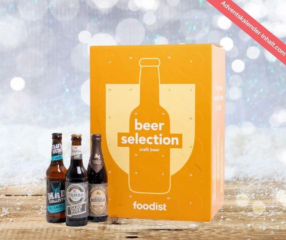 Foodist Craft Beer Adventskalender