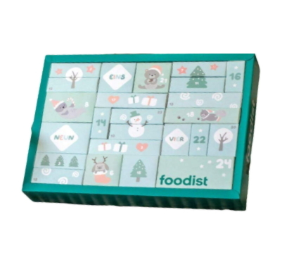 Foodist Kinder Adventskalender