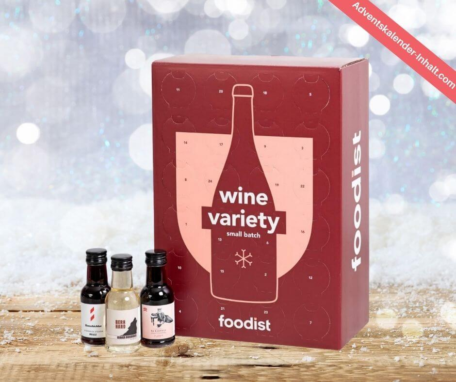 Foodist Wein Adventskalender