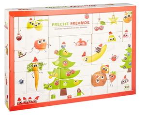 Freche Freunde Bio Adventskalender für Kinder