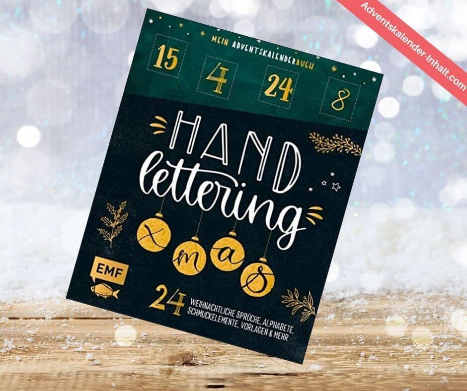 Handlettering Adventskalender