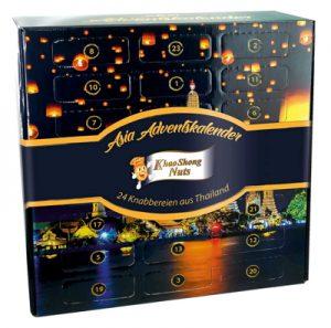 Khao Shong Kalender mit Snacks aus Thailand