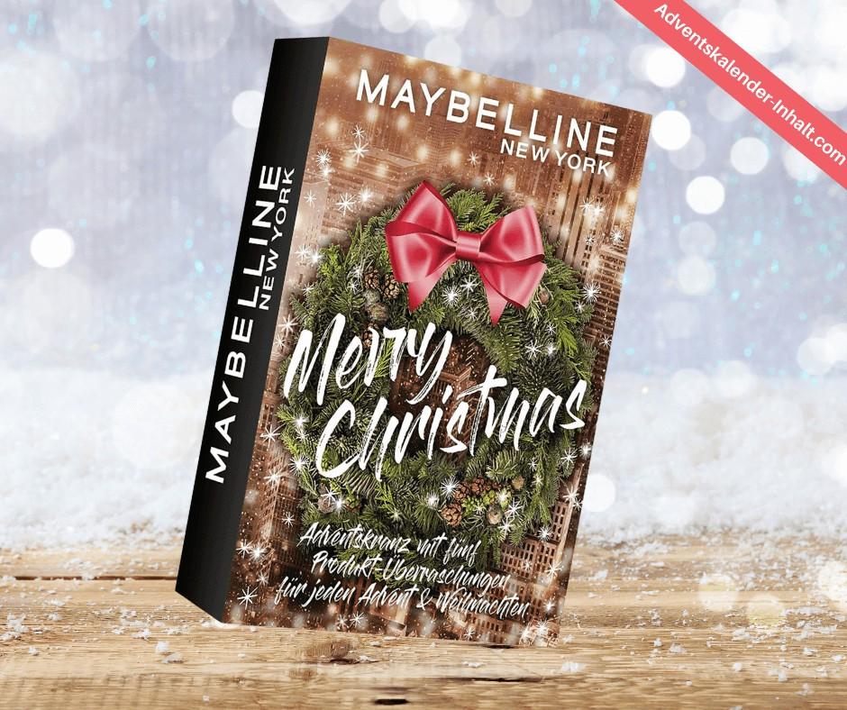 Maybelline New York Adventskalender (1)