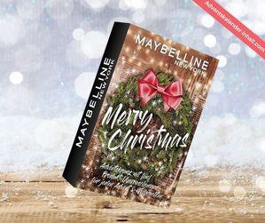 "Maybelline New York Mini Adventskalender ""Adventskranz"" 2020"