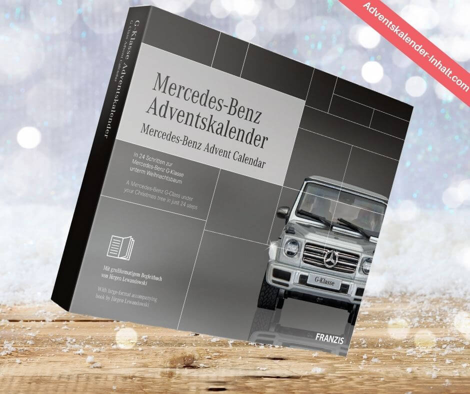 Mercedes Benz Adventskalender