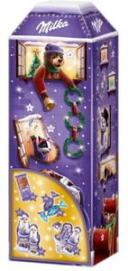 Milka 3D Haus-Adventskalender