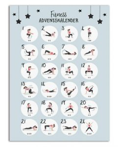 Nastami Fitness Adventskalender