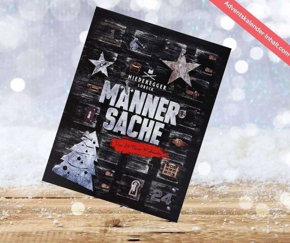"Niederegger Adventskalender ""Männersache"""