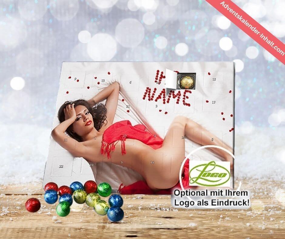Personalisierter Erotik-Adventskalender mit Schokolade