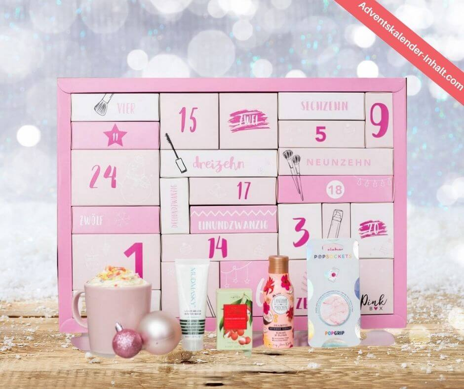 Pink Box Beauty Adventskalender