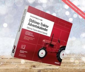 Porsche Oldtimer Traktor Adventskalender