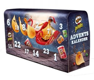 Pringles Chips Adventskalender
