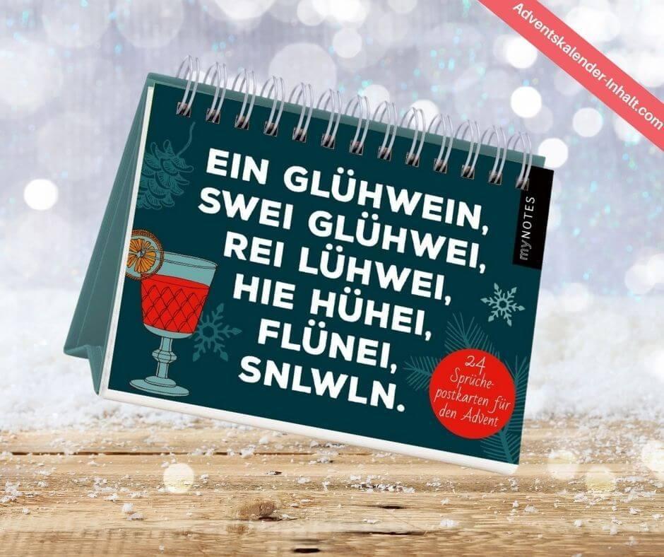 myNOTES Postkarten-Adventskalender
