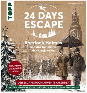 24 Day Escape Sherlock Holmes und das Geheimnis der Kronjuwelen