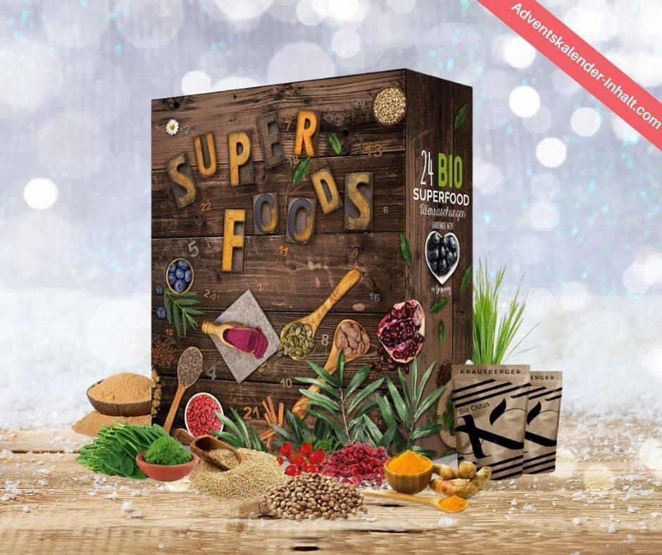 Boxiland Superfood Adventskalender
