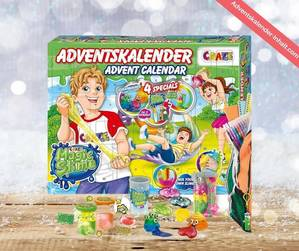 CRAZE Magic Slime Adventskalender