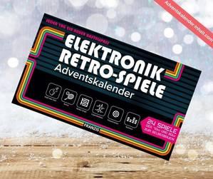 Elektronik Retro Spiele Adventskalender