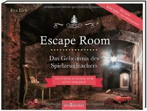Escape-Room Adventskalender Das Geheimnis des Spielzeugmachers