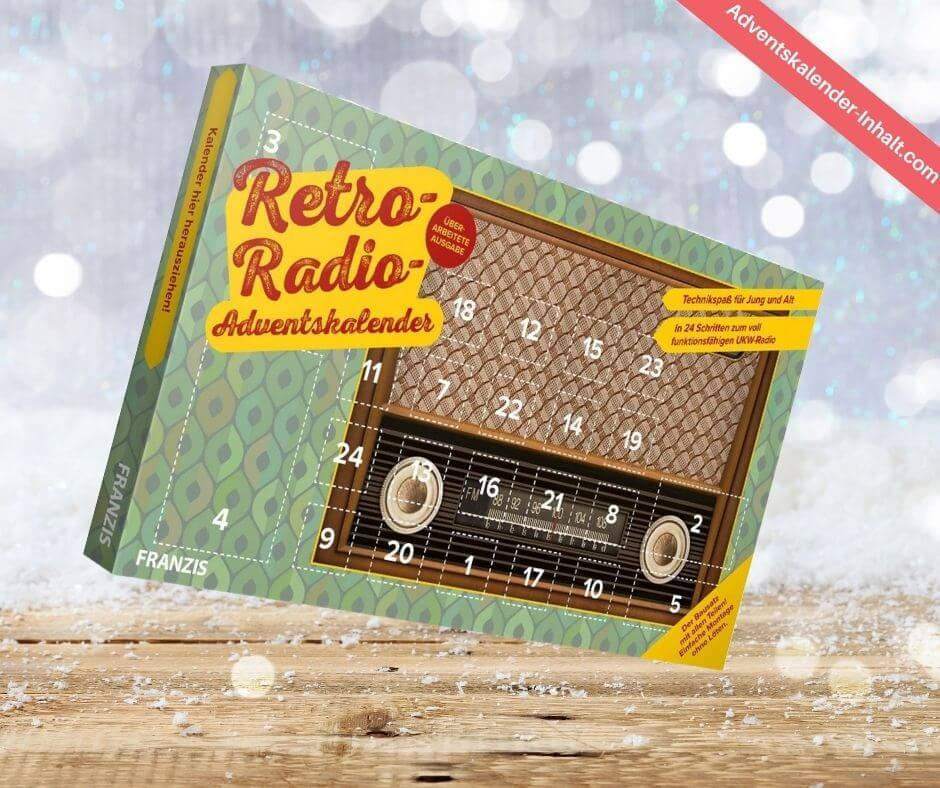 Franzis Retro Radio Adventskalender