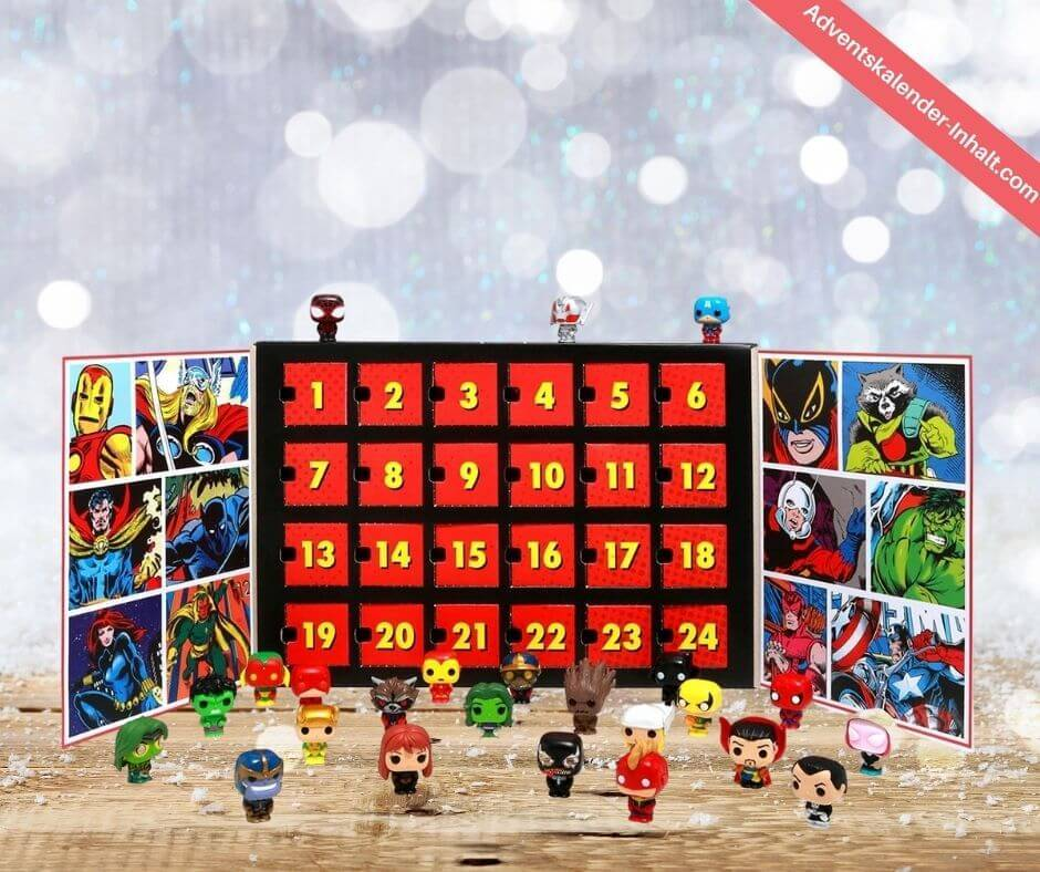 Funko Marvel Pocket Pop Adventskalender