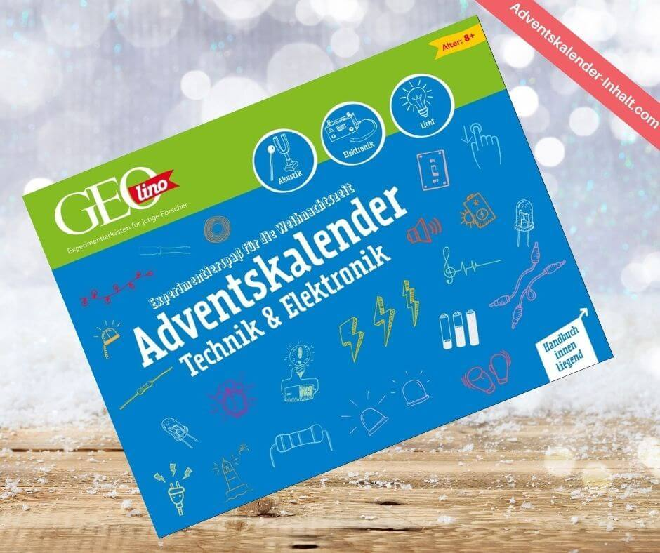 GEOlino Adventskalender – Technik & Elektronik