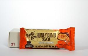 Gesalzener Karamell-Honig-Riegel