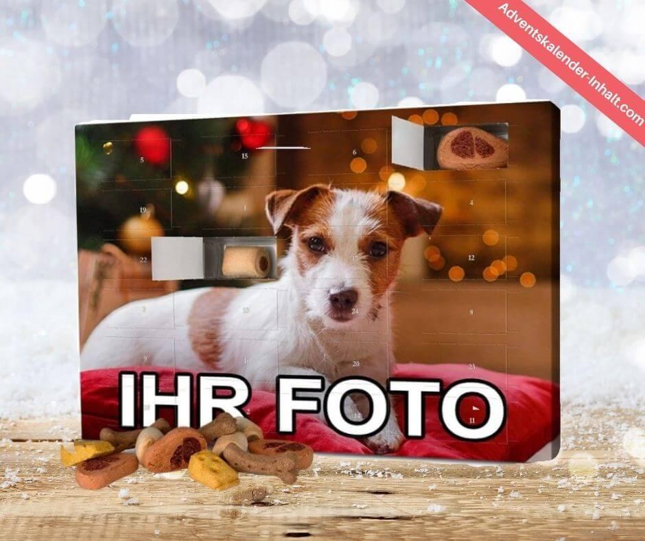 Hunde-Adventskalender mit Foto
