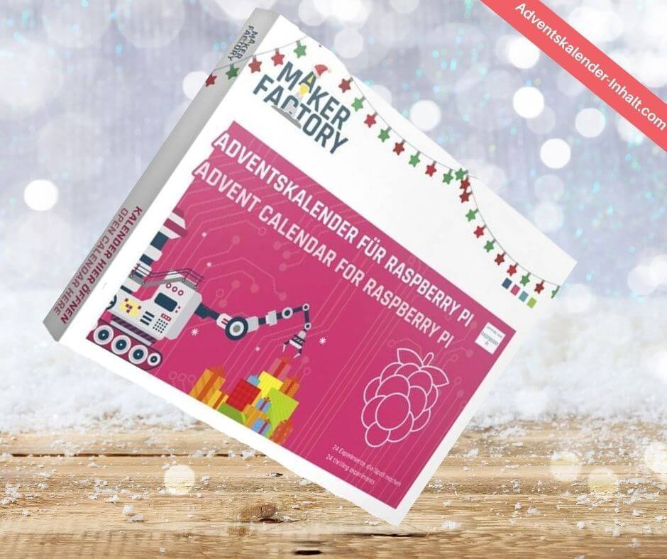 Makerfactory Rapsberry Pi Adventskalender
