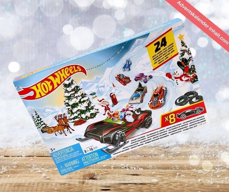 Mattel Hot Wheels Adventskalender