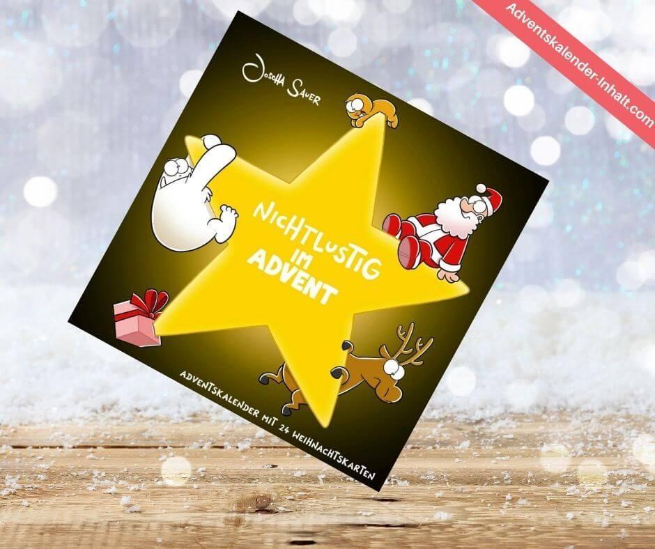 Nichtlustig im Advent – 24 Cartoon-Weihnachtskarten