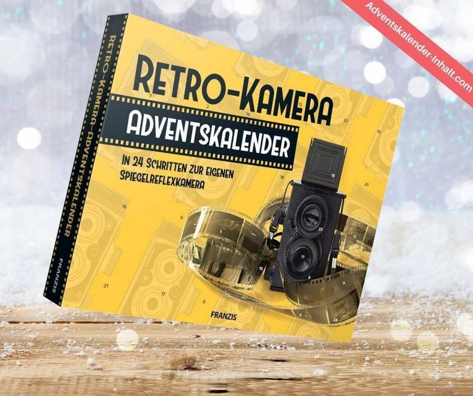 Retro Kamera Adventskalender