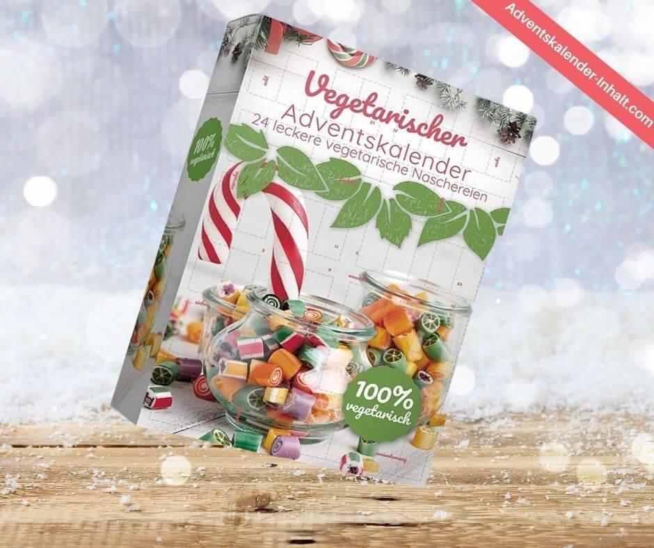 Vegetarischer Süßigkeiten Adventskalender