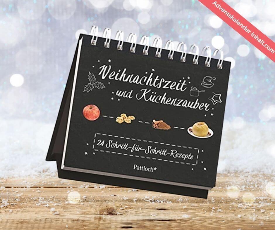 Weihnachtszeit und Küchenzauber Rezepte-Adventskalender