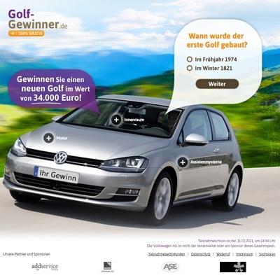 golf gewinner