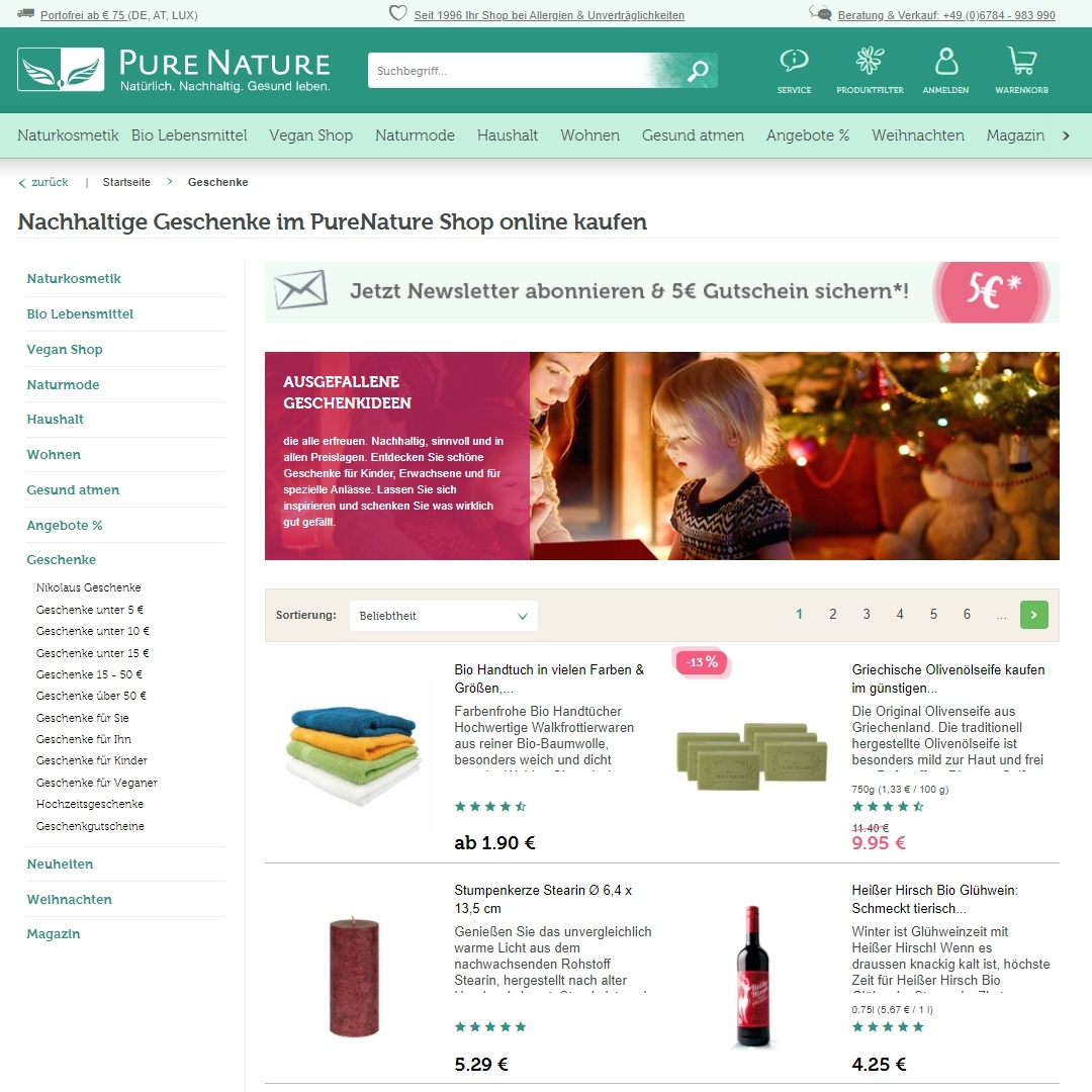 pure nature adventskalender