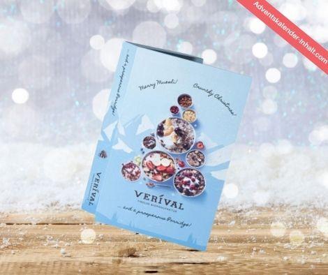 Buch Fitness Weihnachtskalender Verival 2021