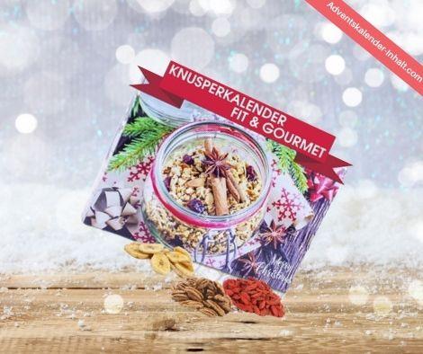 C&T Veganer Snack Weihnachtskalender Fit & Gourmet 2021