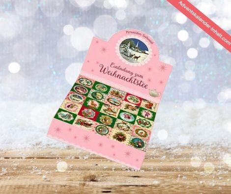 Einladung zum Weihnachtstee – Teekalender