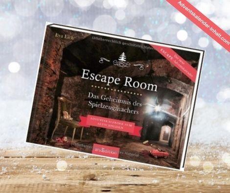 Escape Room Adventskalender: Das Geheimnis des Spielzeugmachers
